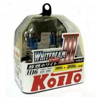 Koito Whitebeam III H16 P0749W 4000K 12V19W - 2 шт. лампы галогенные купить цена