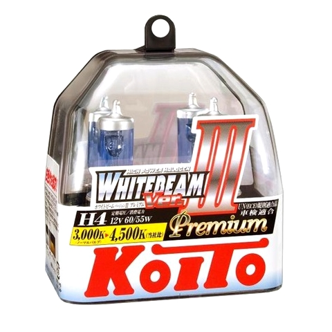 koito whitebeam iii h4 p0744w 4500k 12v 60 55w 135 125w. Black Bedroom Furniture Sets. Home Design Ideas