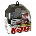 Koito Whitebeam III H1 4200K 12V 55W (100W) - 2 шт. лампы галогенные