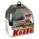 Koito Whitebeam III H3 4000K 12V 55W (100W) - 2 шт. лампы галогенные