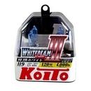Koito Whitebeam III H9 4000K 12V 65W (120W) - 2 шт. лампы галогенные