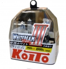 Галогенные лампы Koito Whitebeam III H27/1 4000K 12V 27W (55W) - 2 шт