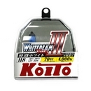Koito Whitebeam III H8 4000K 12V 35W (70W) - 2 шт. лампы галогенные