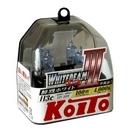 Koito Whitebeam III H3c 4000K 12V 55W (100W) - 2 шт. лампы галогенные